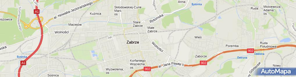 Zdjęcie satelitarne PKO Bank Polski - Oddział