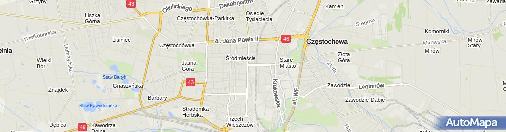 Zdjęcie satelitarne PKO Bank Polski - Wpłatomat