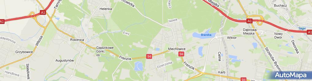Zdjęcie satelitarne Bawilandia