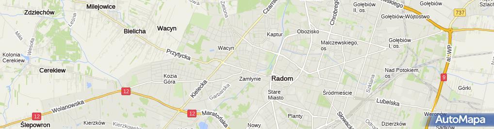 Zdjęcie satelitarne Plac zabaw hotelu Kameralny