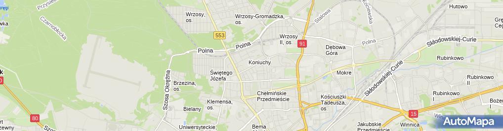 Zdjęcie satelitarne Play GSM900