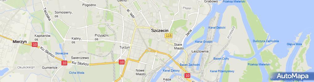 Zdjęcie satelitarne Play - Sklep