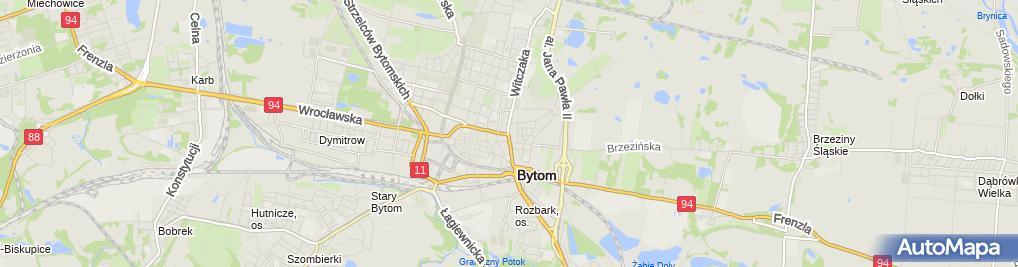 Zdjęcie satelitarne FUP Bytom 2