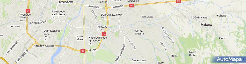 Zdjęcie satelitarne FUP Rzeszów 14
