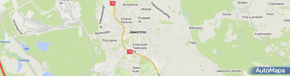 Zdjęcie satelitarne UP Jaworzno 1