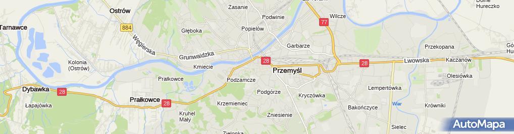 Zdjęcie satelitarne UP Przemyśl 8