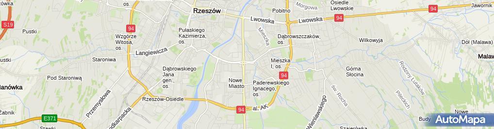 Zdjęcie satelitarne UP Rzeszów 10
