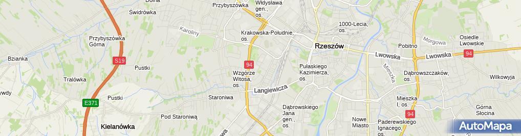 Zdjęcie satelitarne UP Rzeszów 11