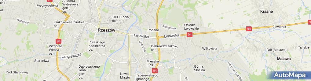 Zdjęcie satelitarne UP Rzeszów 16
