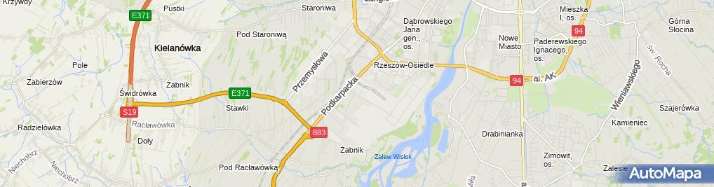 Zdjęcie satelitarne UP Rzeszów 6