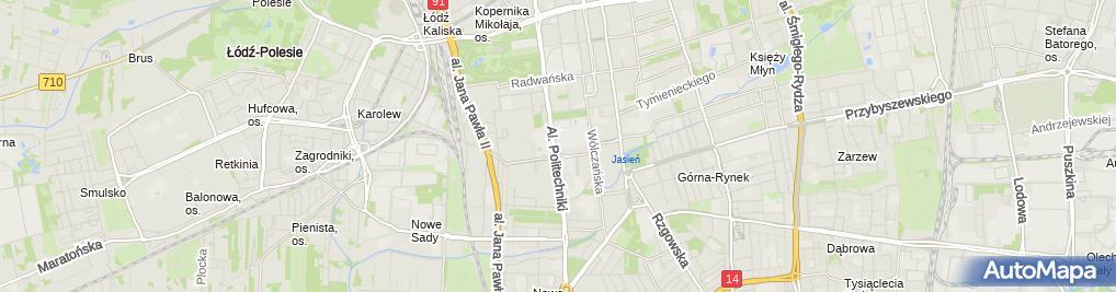 Zdjęcie satelitarne Studium Języków Obcych
