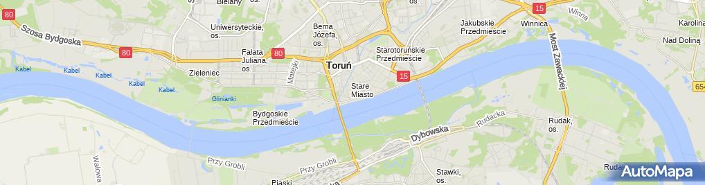 Zdjęcie satelitarne Polska Akademia Nauk, Zakład Astrofizyki
