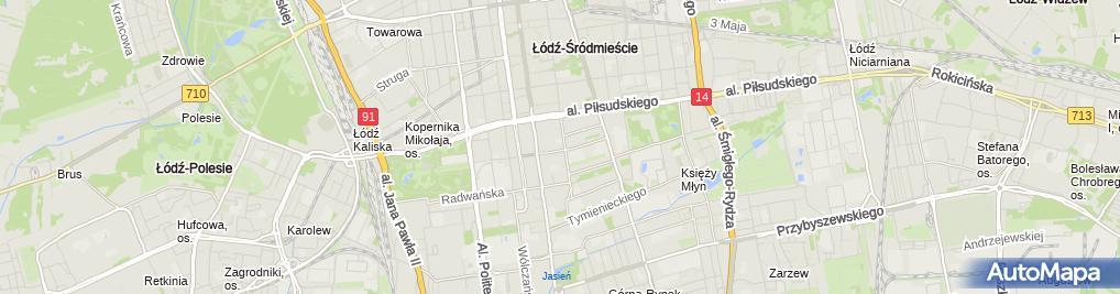 Zdjęcie satelitarne Soplicowo