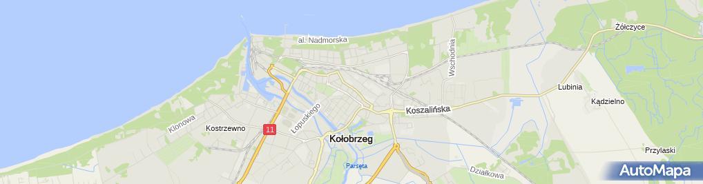 Zdjęcie satelitarne Zarząd Rejonowy