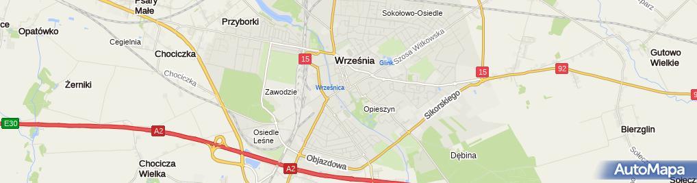 Zdjęcie satelitarne Dzieci Wrzesińskich