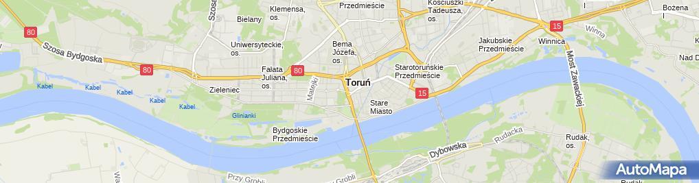 Zdjęcie satelitarne Jan Paweł II