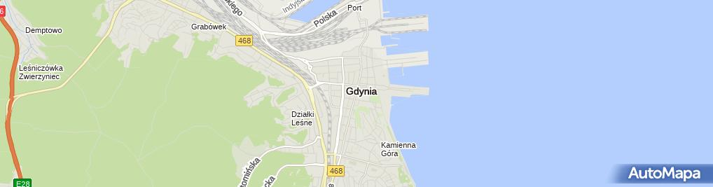 Zdjęcie satelitarne Jana Pawła II