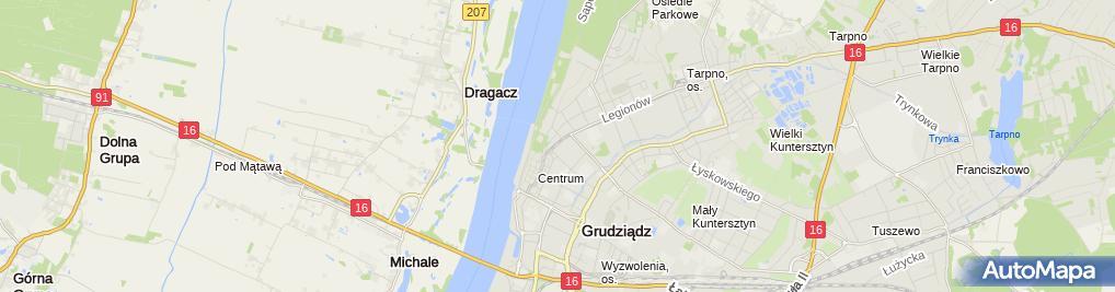 Zdjęcie satelitarne Lech Kaczyński