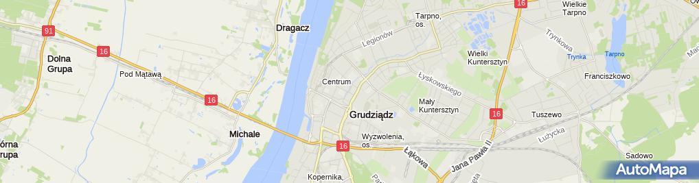 Zdjęcie satelitarne Ofiarom Zbrodni Katyńskiej