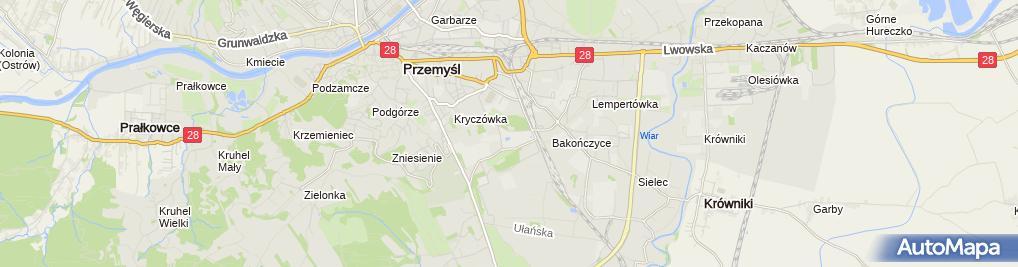 Zdjęcie satelitarne Pomnik, Obelisk, Tablica pamiątkowa