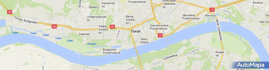 Zdjęcie satelitarne Stefan Łaszewski