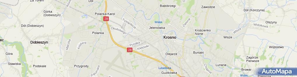 Zdjęcie satelitarne Miejska Poradnia Psychologiczno-Pedagogiczna
