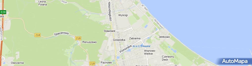 Zdjęcie satelitarne Niepubliczna Poradnia Psychologiczno - Pedagogiczna Cg