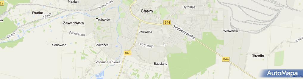 Zdjęcie satelitarne Poradnia Psychologiczno-Pedagogiczna Nr 1