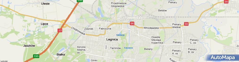 Zdjęcie satelitarne Poradnia Psychologiczno-Pedagogiczna Nr 2