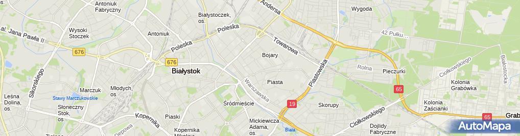 Zdjęcie satelitarne Powiatowa Poradnia Psychologiczno-Pedagogiczna