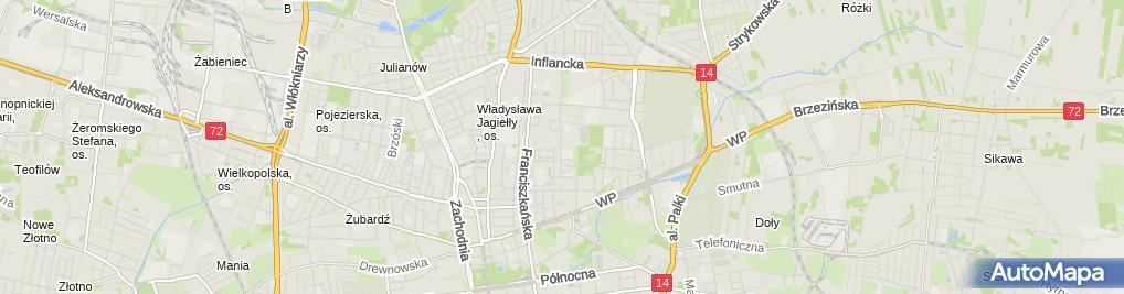 Zdjęcie satelitarne Biuro Doradztwa i Pośrednictwa Finansowego Anna Maria Pustkowska