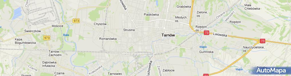 Zdjęcie satelitarne Gazeta Krakowska