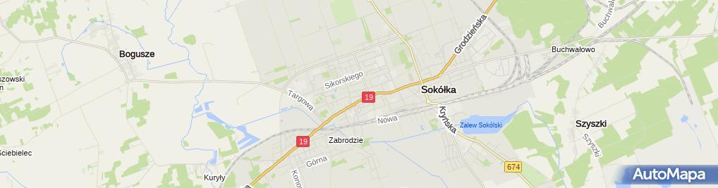 Zdjęcie satelitarne Prim Market - Sklep