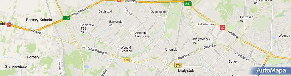 """Zdjęcie satelitarne Ośrodek Leczenia Uzależnień """"VIRTUS"""" s.c."""