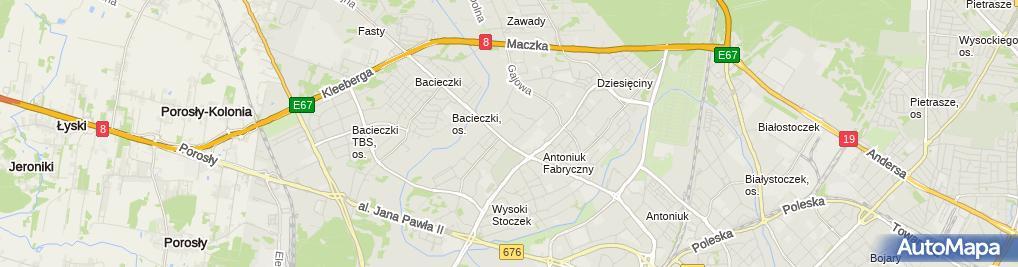 Zdjęcie satelitarne 3M Logistic Jarosław Marciniak
