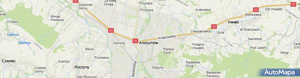 Zdjęcie satelitarne Abc Prtinters Firma Poligraficzna Syty Zbigniew Syty Józef