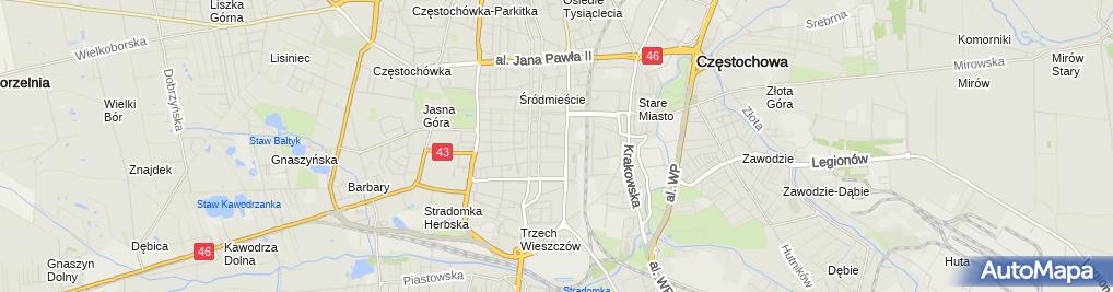 Zdjęcie satelitarne Abc - Trans Zbigniew Janik