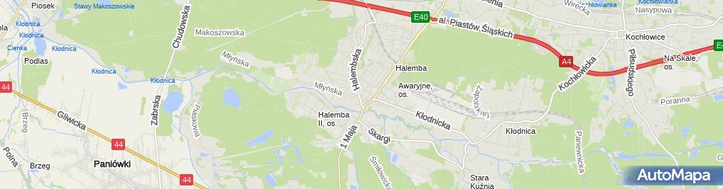 Zdjęcie satelitarne Abe Łukasz Kucharczyk Michał Kucharczyk