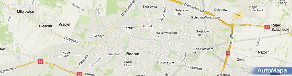 Zdjęcie satelitarne ADAG