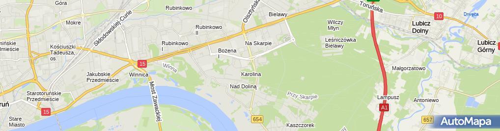 Zdjęcie satelitarne Adam Sałacki Przedsiębiorstwo Produkcyjno Handlowo Usługowe Babell, Catier