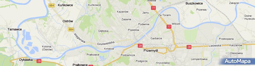 Zdjęcie satelitarne Adam Szpak Firma Handlowo-Produkcyjna Szpak