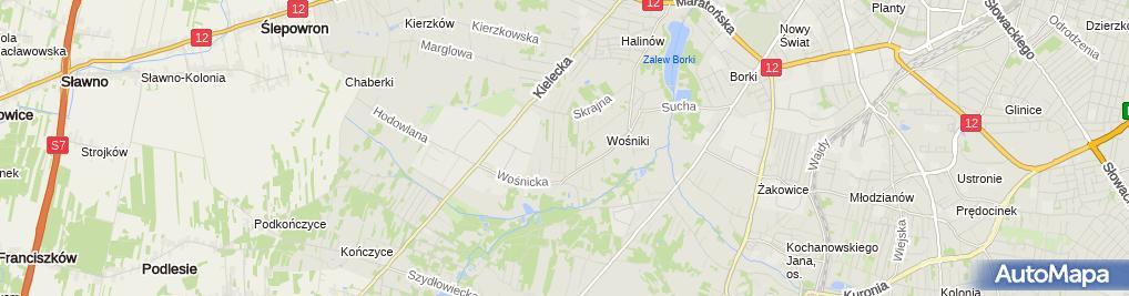 Zdjęcie satelitarne Adf Jan Waszczyk