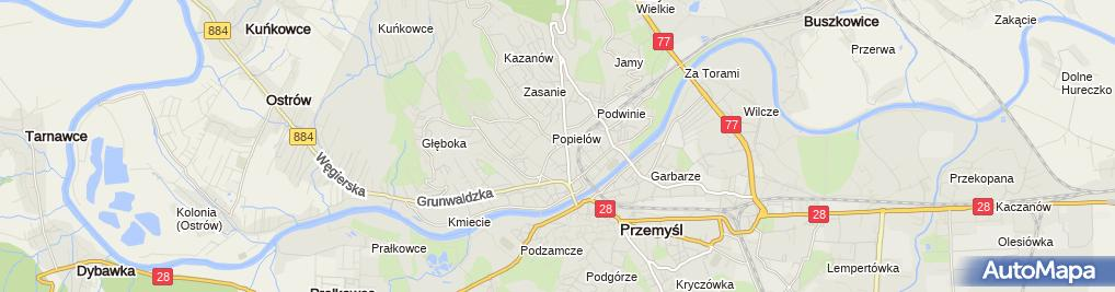 Zdjęcie satelitarne Administrator Budynku Elżbieta Szabaga