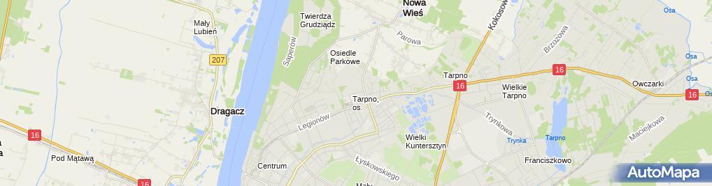 Zdjęcie satelitarne Adrian Michalski Ratownik Medyczny