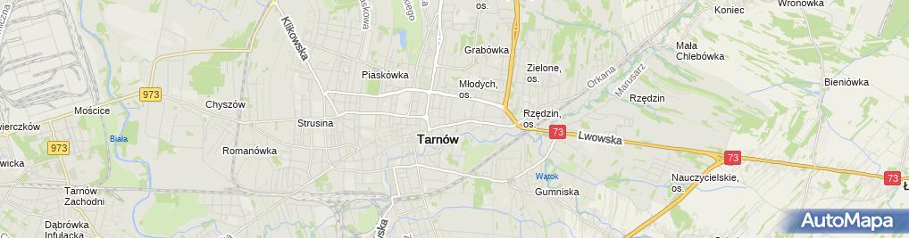 Zdjęcie satelitarne Aga II Stanisław Stanosz Dorota Stanosz