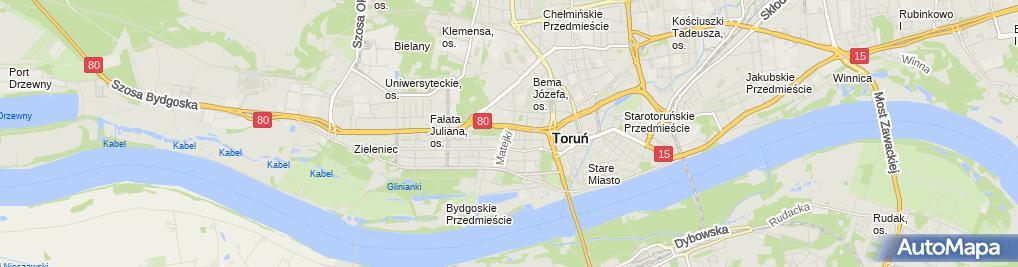 Zdjęcie satelitarne Agata Poczopko Pracownia Protetyczna