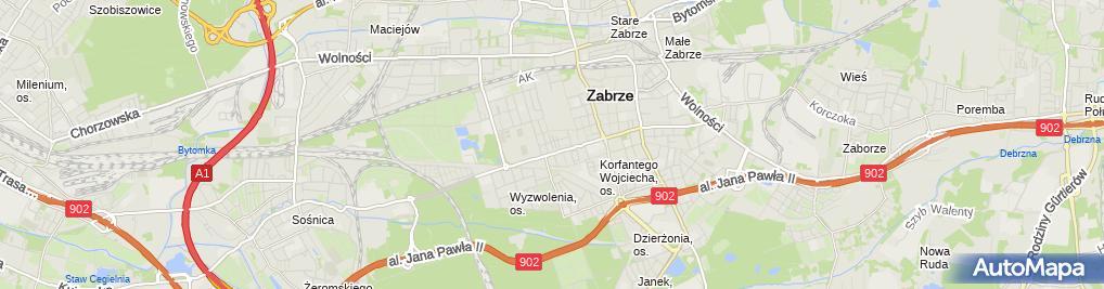 Zdjęcie satelitarne Agencja Andre Dobroczek Andrzej Piotr