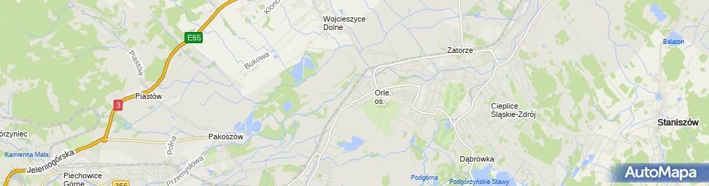 Zdjęcie satelitarne Agencja Artystyczna Fortepiano Róża Wysocka