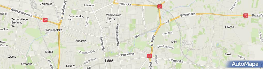 Zdjęcie satelitarne Agencja Doradztwa Ubezpieczeniowego