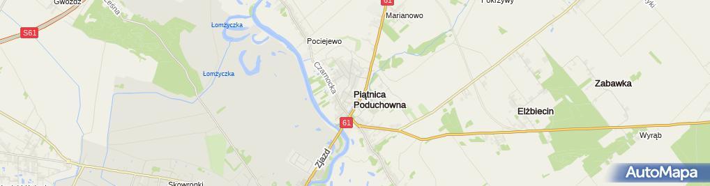 Zdjęcie satelitarne Agencja Handlowa